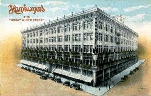 Hamburger's Giant Los Angeles Department Store, sold to the May Co. - today is Macy's