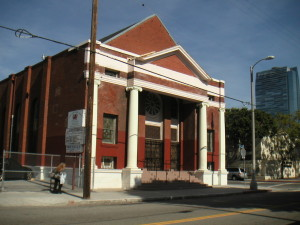 The First LA Sinai Temple (today)