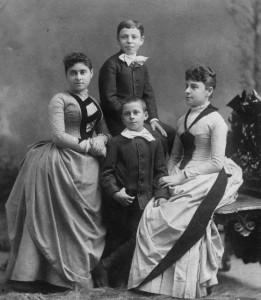 Children of Maurice Kremer. 1887, #WS1013