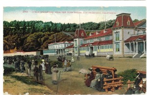 Ocean Blvd. Near the Cliff House, Sutro Heights, 1890's Postcard