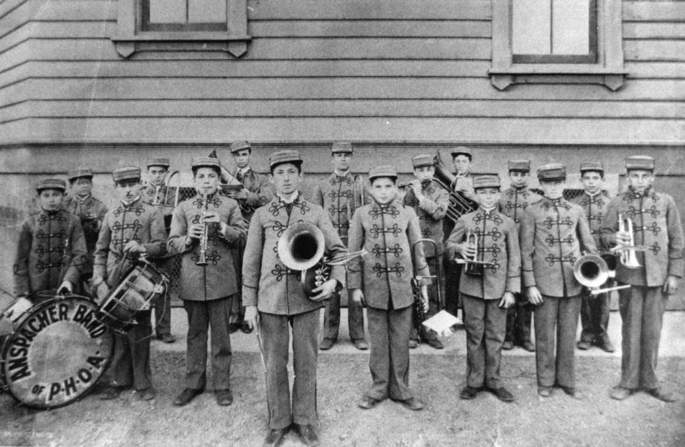 The Anspacher Orphans Band, 1890s, WS1954