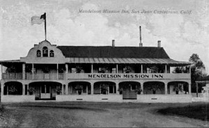 Mendelson Mission Inn Postcard