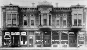 Gildmacher Building, 1887 courtesy Guy Ball
