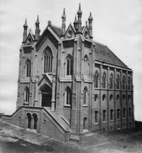 Congregation Sherith Israel's 3rd Building. WS 13/1917