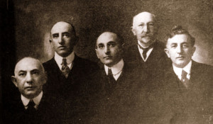 The Harris Bros.: Philip, Leo, Arthur, Dr. Lessor Hirschkowitz, & Herman Harris, #ws1586