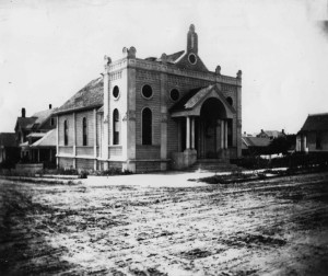 Temple Beth Israel in 1884 WS#1514