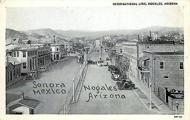 "Nogales, After Turn of Century After Name Change from ""Isaacson,"" and After the Isaacson's had Left Town. Postcard"