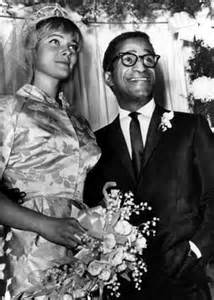 Sammy Davis Jr. & Mai Britt's Wedding Picture