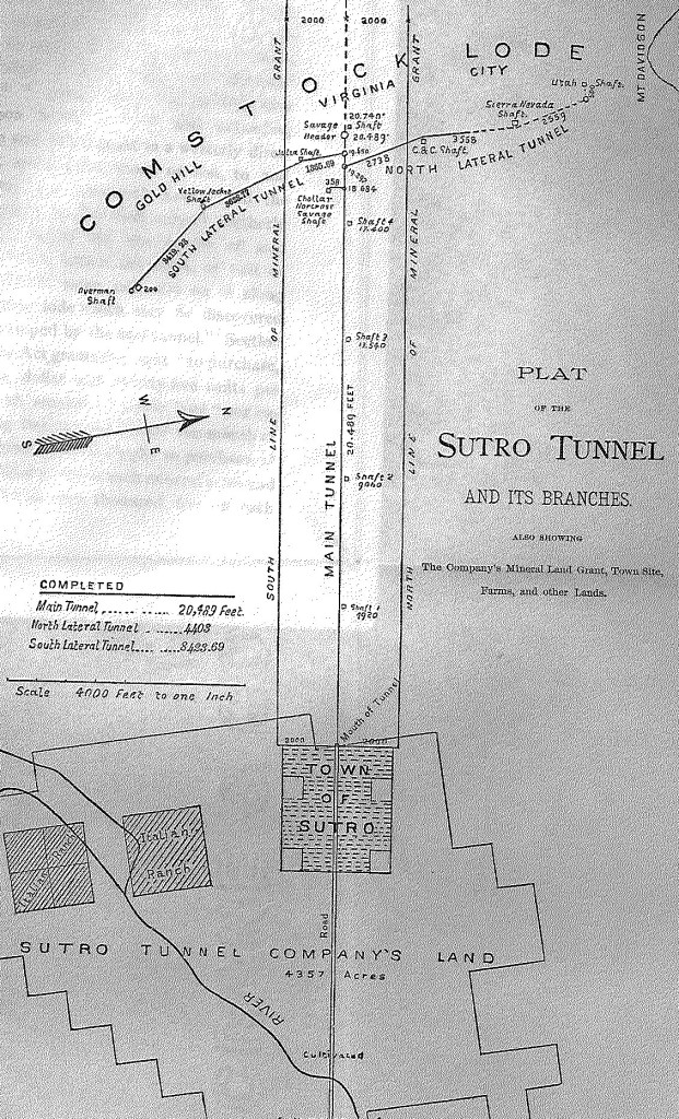 The Sutro Tunnel