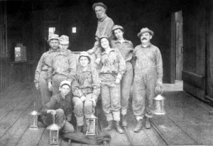 Men & Women worked in the completed Sutro Tunnel, #WS0213