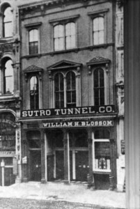 The Sutro Tunnel Office in San Francisco, WS3932
