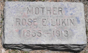 Rose Lukin's Grave Site in Phoenix