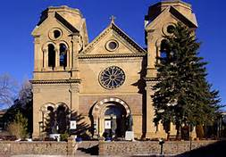 St. Francis Cathedral,heavily funded by the early Jewish Merchant Families of Santa Fe.