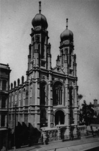 Temple Emanu-El of San Francisco before the 1906 Earthquake-Fire, WS1884