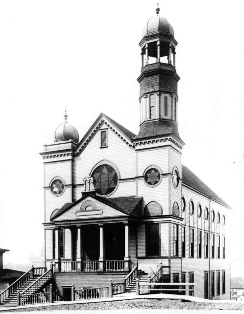 Congregation Ohaveth Sholom, Seattle, Washington, 1892