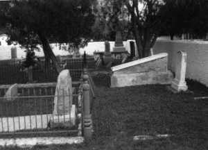 The Jewish Cemetery in Brownsville, Texas, late 1900s, #WS1346