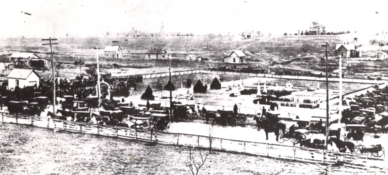 Fort Worth's Emanuel Hebrew Rest Cemetery in 1898.
