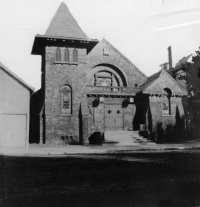 Temple Israel's 2nd Building, circa 1905, #WS1926