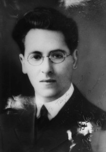 A young Rabbi Edgar Magnin of Temple Israel of Stockton, circa 1914, #WS3280