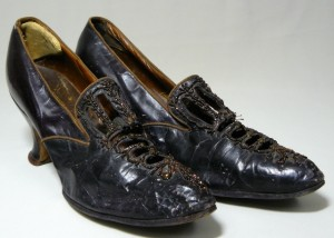 Shoes from Drachman's Store about time of Synagogue Dedication, 1910-1912.