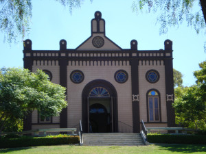 The Original Temple Beth Israel today in Heritage Park, San Diego.