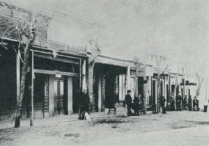 The Danielewitz Stores, one was rented, then purchased by Lehman Weil in 1866, Mokelumne Hill CA