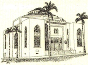 The Second Location of Congregation Beth Israel.