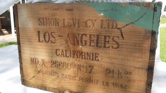 Simon Levi Wine Crate