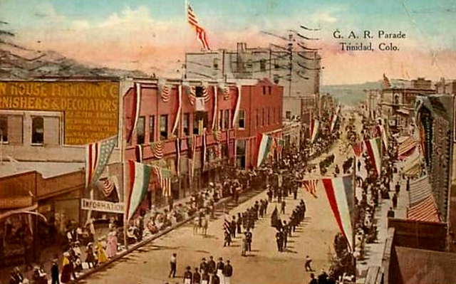 G.A.R. Celebration in Trinidad in 1914, Postcard