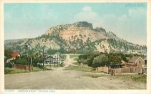 Early Trinidad Colorado Postcard
