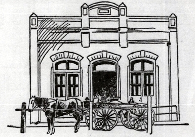 Later H. M. Jacobs Building and Store (Drawing)