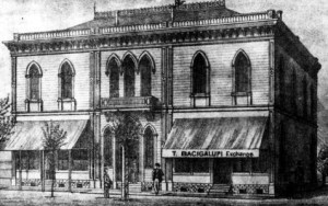 The Masonic Hall in Visalia, 1892, WS1850