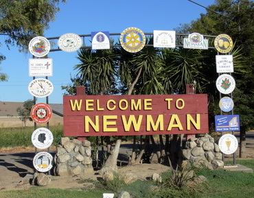 Newman Sign Today. Newman Exit in Route #5 just North of the Harris Ranch, about 4 mile East. Stop and enjoy.