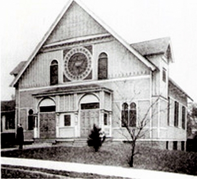 The First Building of Temple Israel of Omaha, #WS5412
