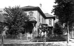 Residence of John & Lena Lesner in Denver, location of many fund raisers for civic and Jewish organizations, #WS0258
