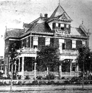 "The First Building of the ""Frances Jacobs Hospital"" in Denver, circa 1892, #WS0264"