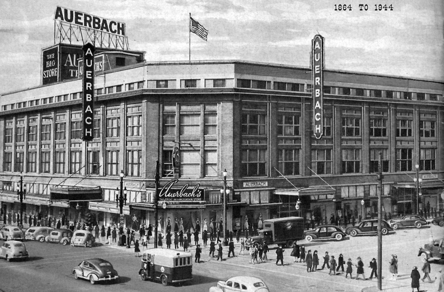 Auerbach's Department Store, Salt Lake City, 1944.