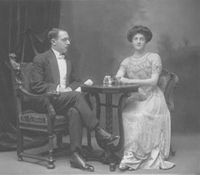 Beatrice and George Samuel Auerbach,1910