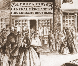 F. Auerbach & Bros. First Salt Lake City Store, 1864