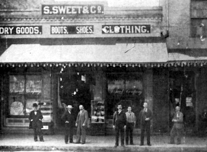 S. Sweets & Co. of Visalia, circa 1880., #WSJH V2/#2.