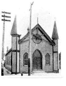 Temple Israel of Leadville in the 1890's