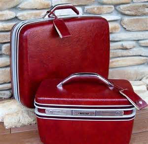 "Vintage ""Samsonite"" Luggage, circa 1960s"