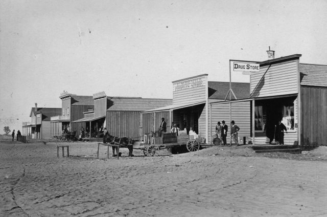 Downtown Hanford, CA 1877, #WS1359
