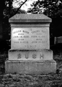 Isidore & Theresa Bush Gravesite