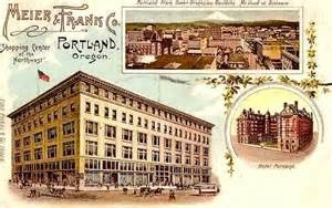 Meier & Frank Full Department Store, Portland, OR, WSJH Postcard Collection