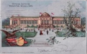 St. Louis World's Fair, Postcard