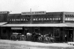 Asher Store in Mojave, 1902, #WS1390