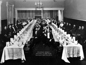 1907 B'nai B'rith Banquet at Al Levy's