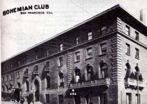 Bohemian Club of San Francisco, 1890s, Vintage Postcard