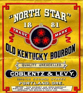 Coblentz  & Levy Bourbon Label, WSJH V45#4